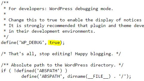 Edit Wp-CONFIG.php