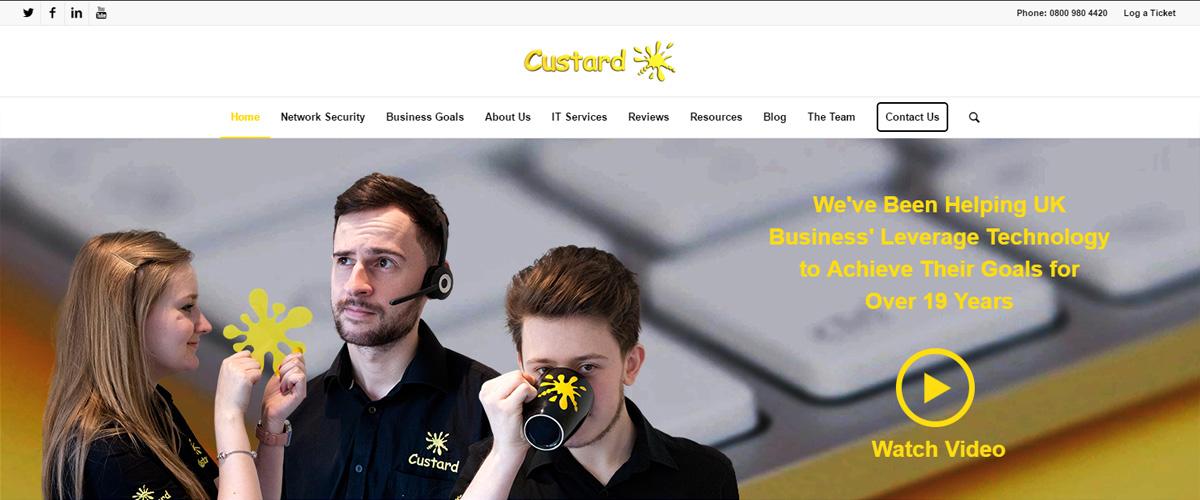 The Main Custard Group Website