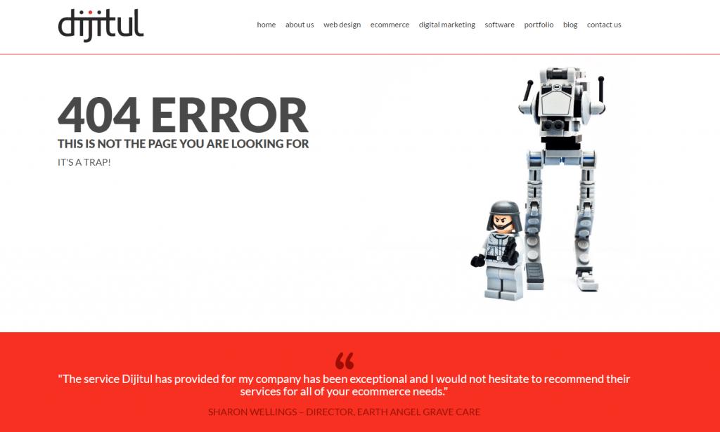 dijitul 404 page